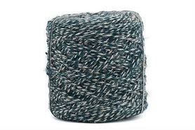 Hennep touw twisted donker blauw 3.5 mm dik 10 meter