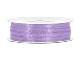 Lavendel satijn lint 3 mm breed