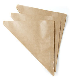 Kraft papier puntzakjes
