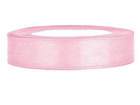 Roze satijn lint 2 cm breed