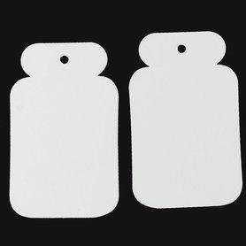 Label creme 6 x 3.8 cm