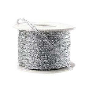 Metalic lint 3 mm zilver