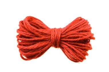 10 meter Hennep touw oranje 2 mm dikte