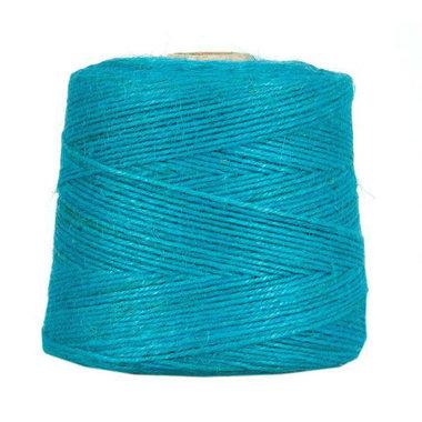 Hennep touw aqua 3 mm dik 10 meter