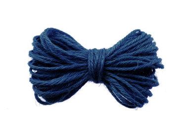10 meter Hennep touw blauw 2 mm dikte