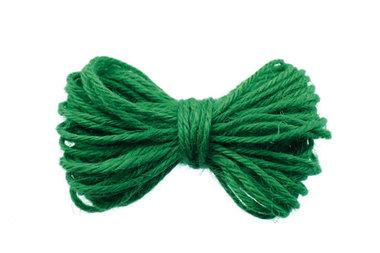 10 meter Hennep touw flessen groen 2 mm dikte