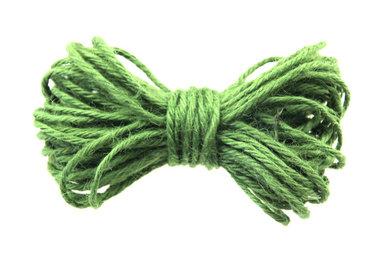 10 meter Hennep touw groen 2 mm dikte
