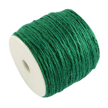 100 meter Hennep touw flessen groen 2 mm dikte