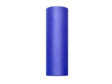15 cm tule lint blauw