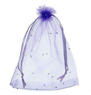 Organza zakjes lavendel met