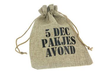 Sinterklaas zakjes 5 dec pakjesavond 13 x 18 cm