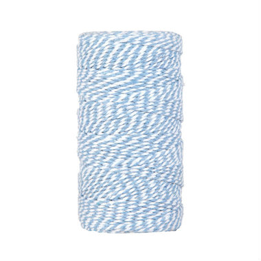 Bakkerstouw licht blauw wit wit 100 meter