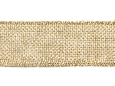 Jute lint 5 cm breed 5 meter rol extra kwaliteit